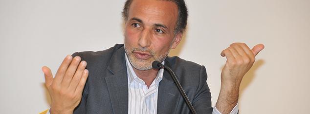Tariq Ramadan Siyer Sempozyumu'ndaydı