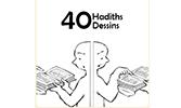 Hasan Aycın'ın 40 Hadis 40 Çizgisi Fransızca'da