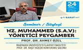 Hz. Muhammed: Yönetici Peygamber